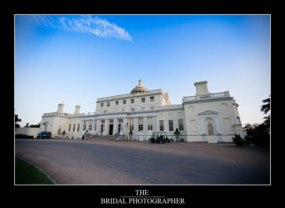 stoke park club wedding photography