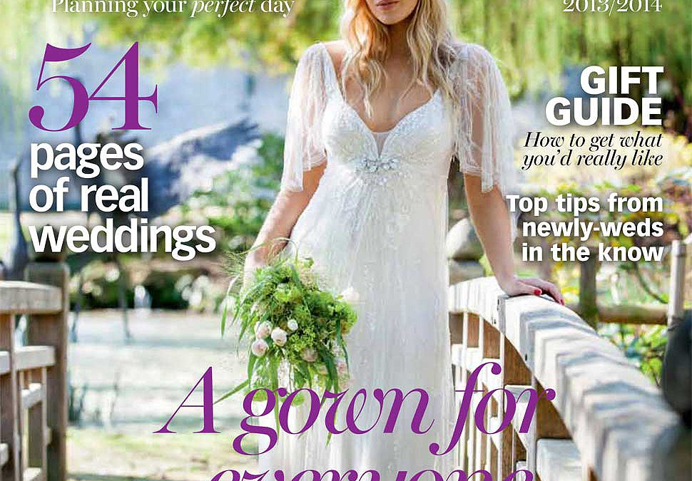 The Great Barn Aynho Wedding featured In Cotswold Bride Magazine