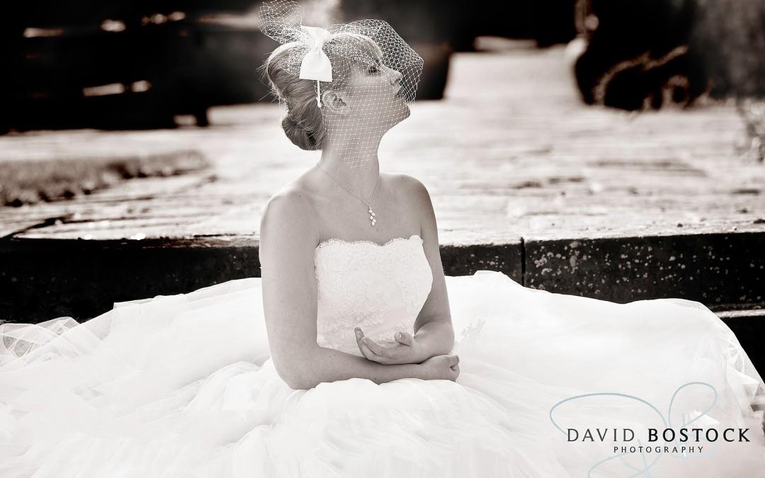 bride in a lusan mandongus wedding dress