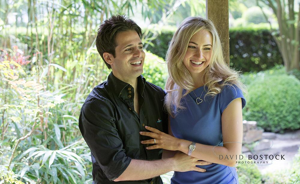 Le manoir engagement shoot close up of couple