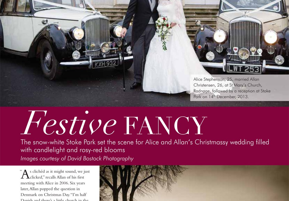 Stoke Park Club Real Wedding Magazine Feature
