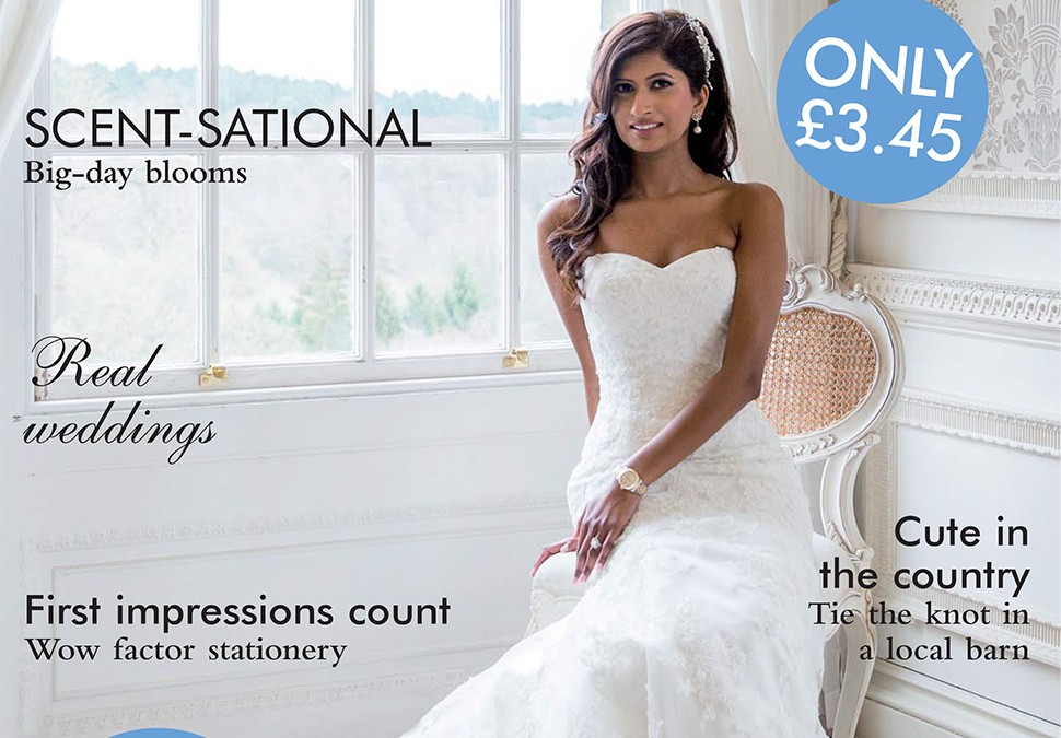 Hedsor house wedding magazine front cover for Front of house magazine