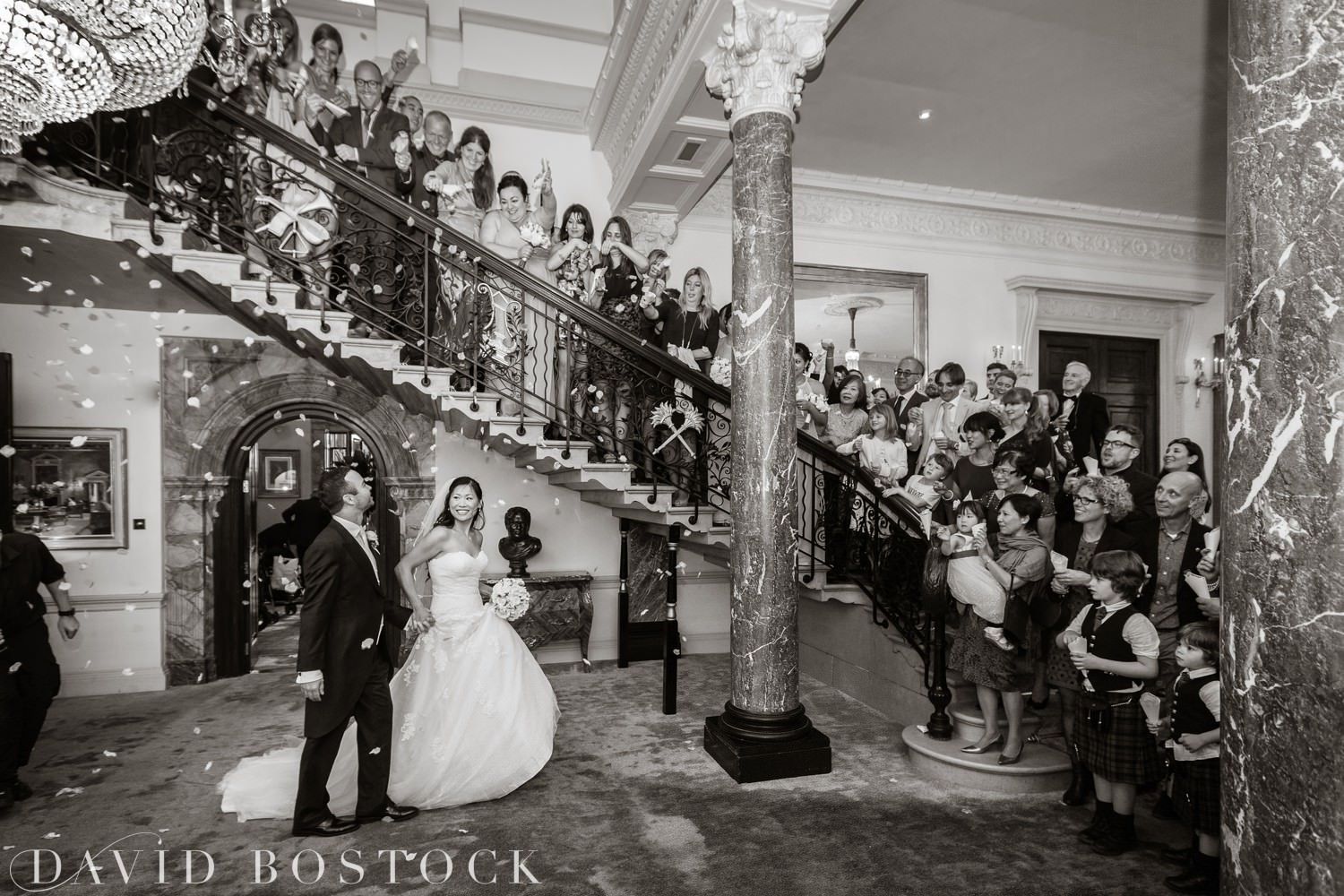 indoor confetti photo from stoke park club