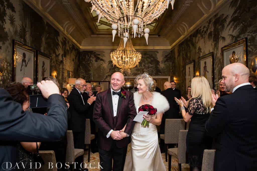 The Haymarket Hotel Wedding Photo