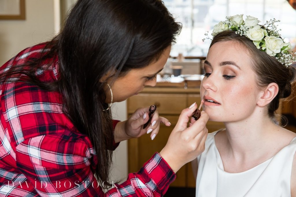 Bridesmaid lipstick