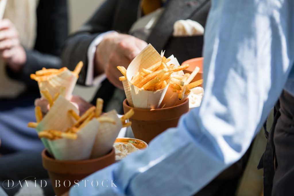 chip cones for guests