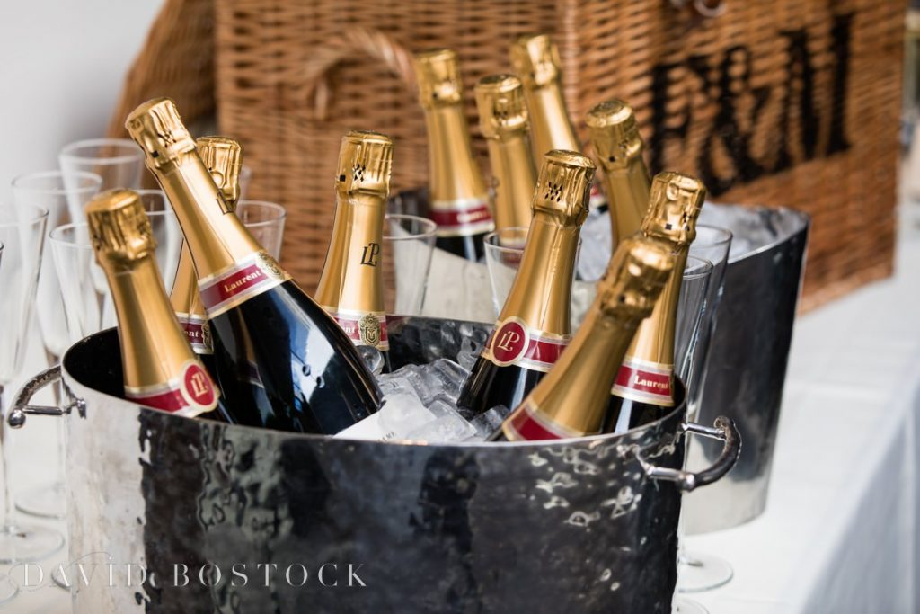 champagne for reception