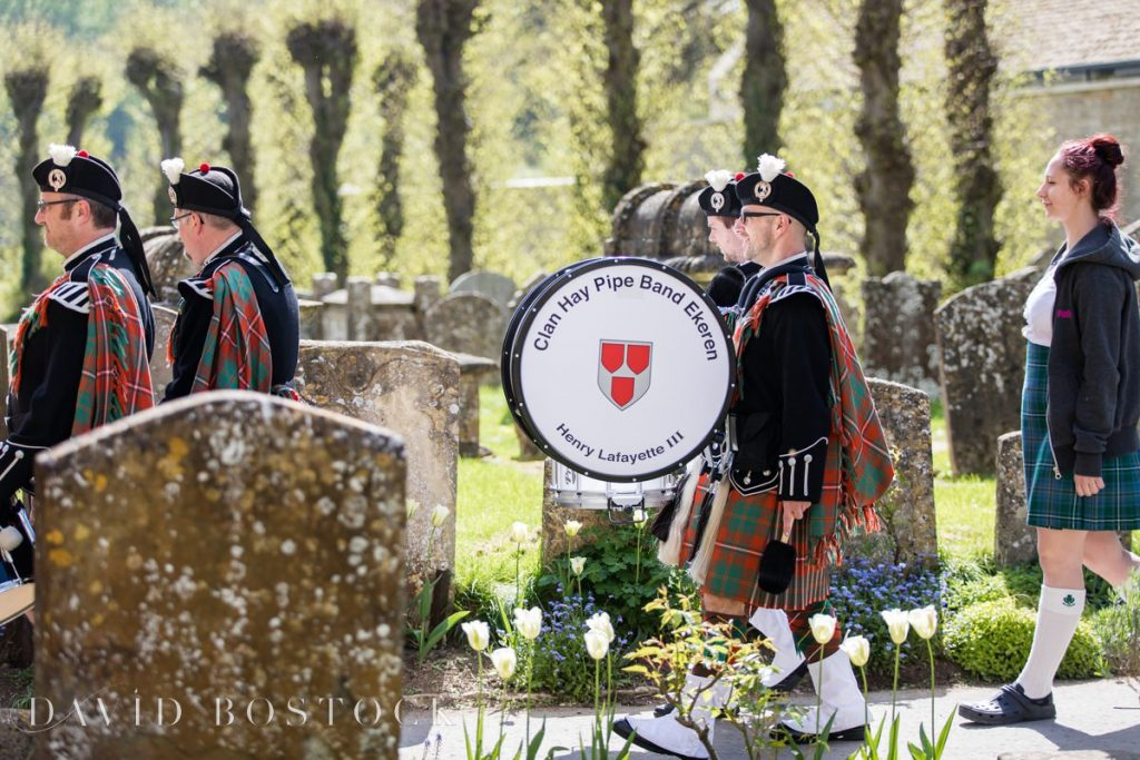 Clan hay band drums