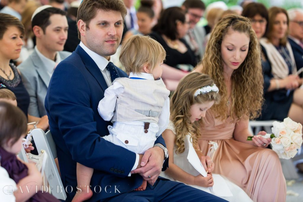 baby at ceremony