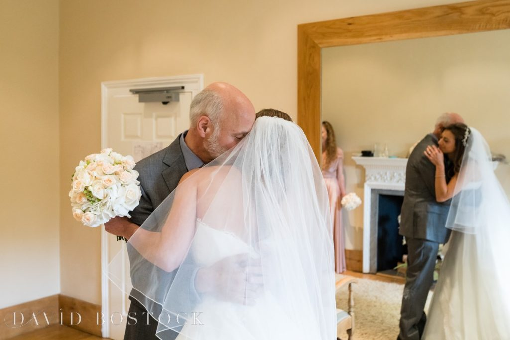 father of the bride embrace