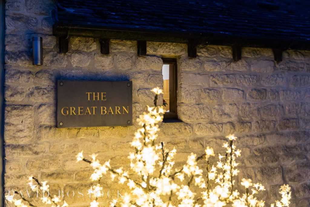 the great barn aynho sign