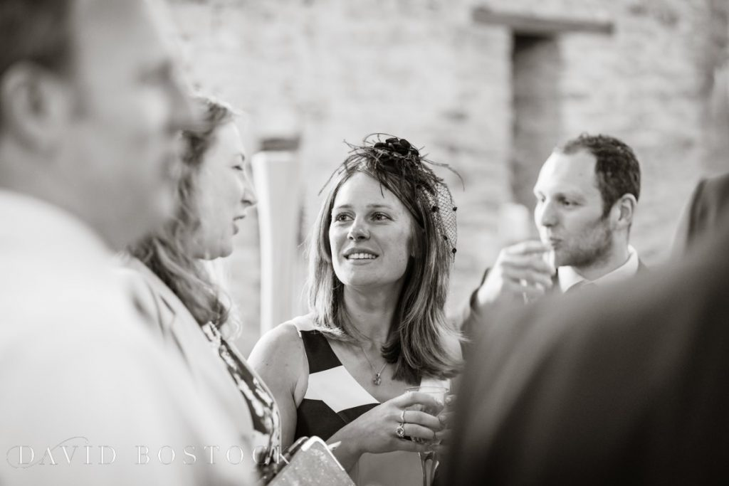 guests chatting
