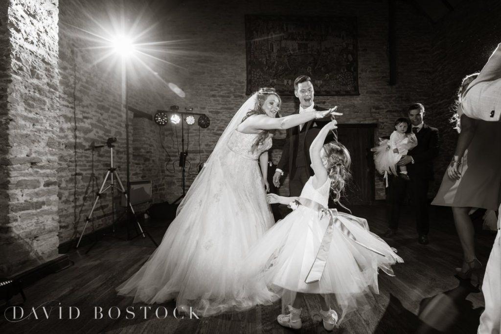 flowergirl dancing