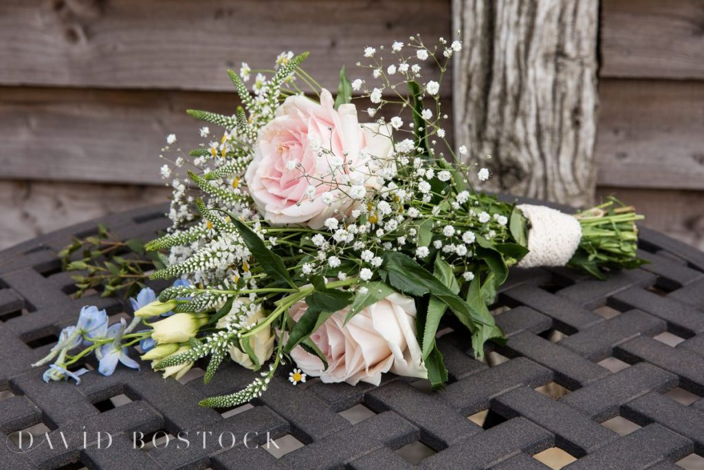 Caswell House Spring Wedding bouquet