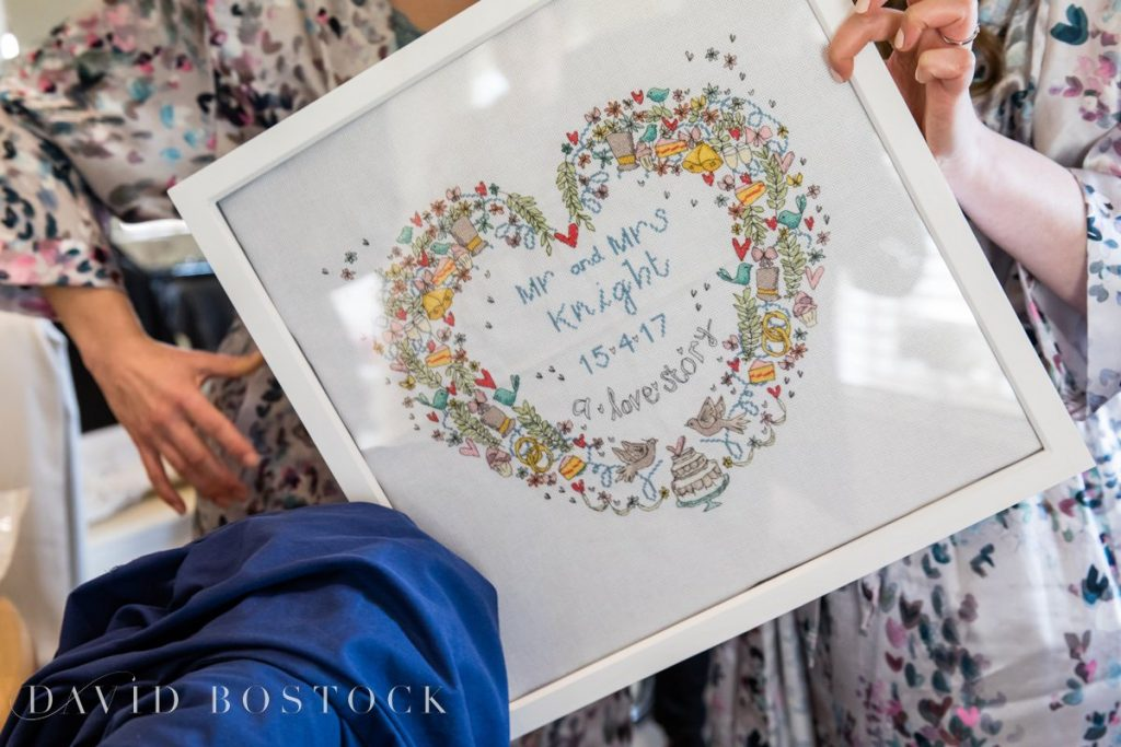 Caswell House Spring Wedding present