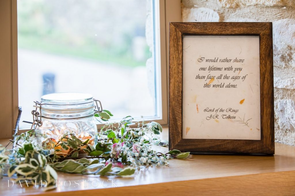 Caswell House Spring Wedding quote