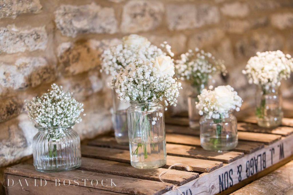 Caswell House Spring Wedding flowers