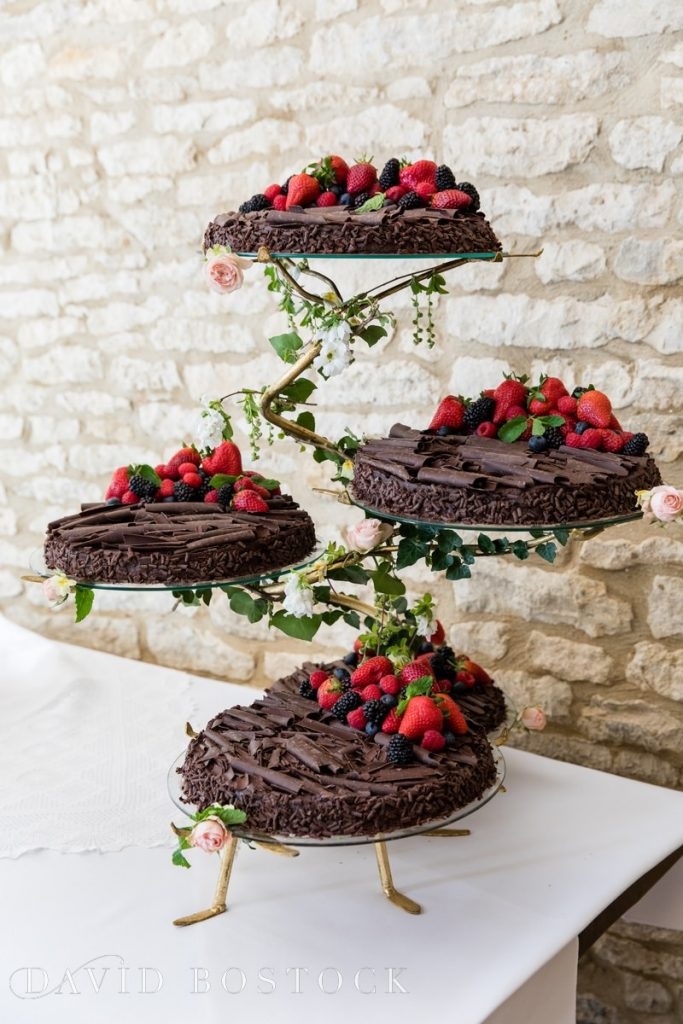 Caswell House Spring Wedding chocolate pudding