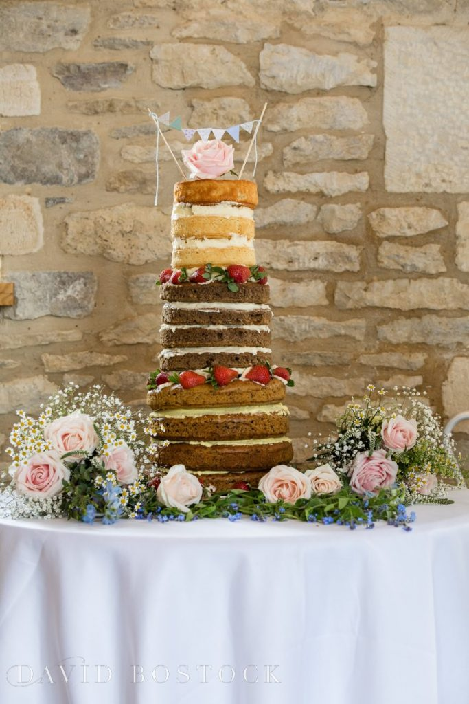 Caswell House Spring Wedding cake