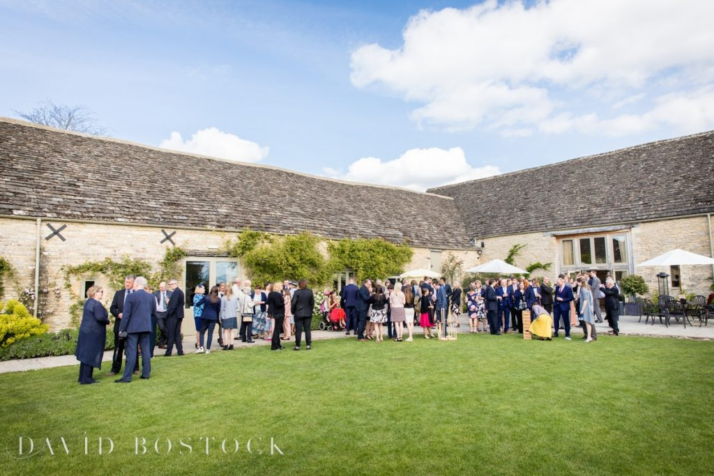 Caswell House Spring Wedding lawn