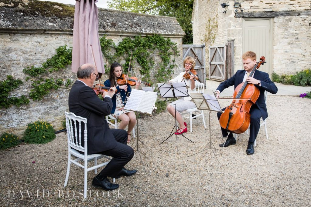 Caswell House Spring Wedding string quartet