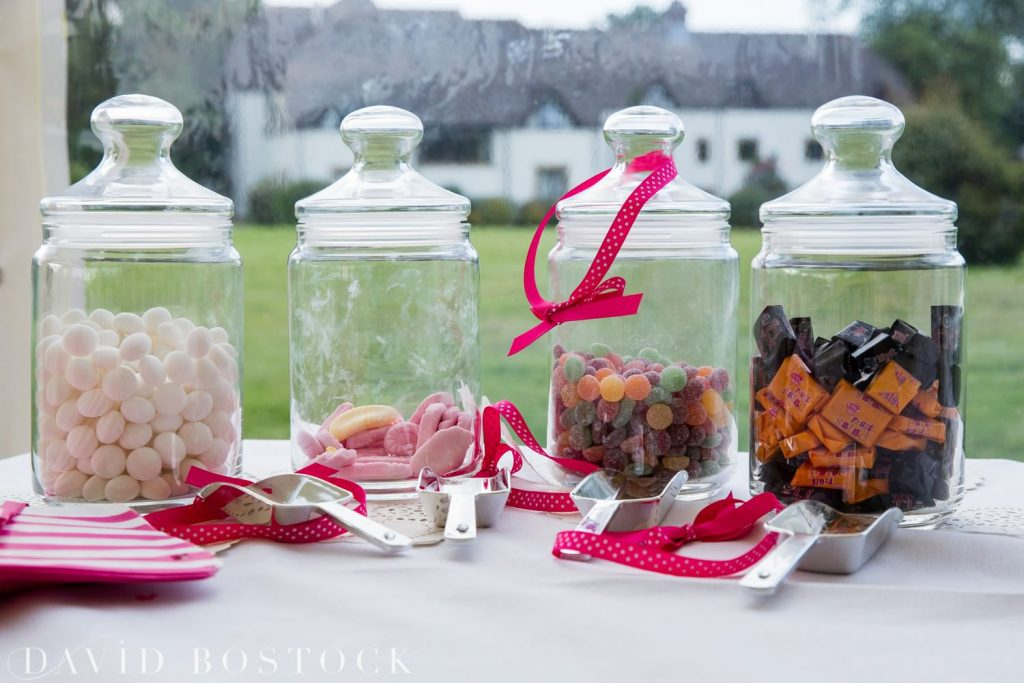 Eynsham Hall Wedding sweets