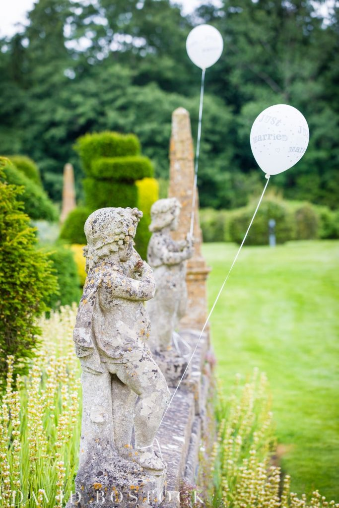 Eynsham Hall Wedding decorations