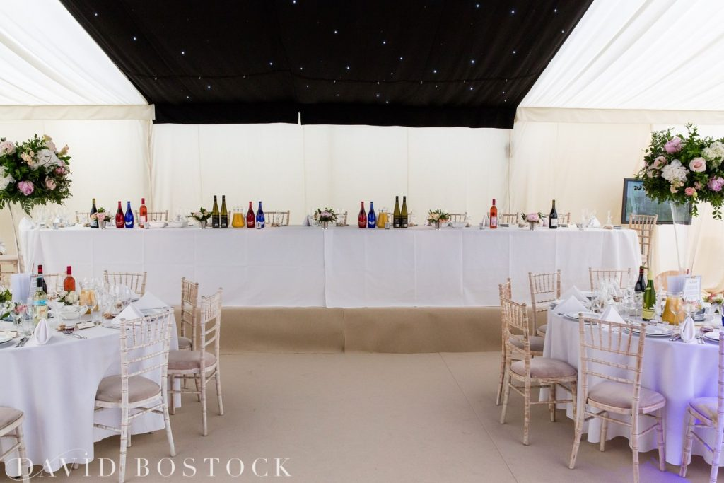 Eynsham Hall Wedding marquee