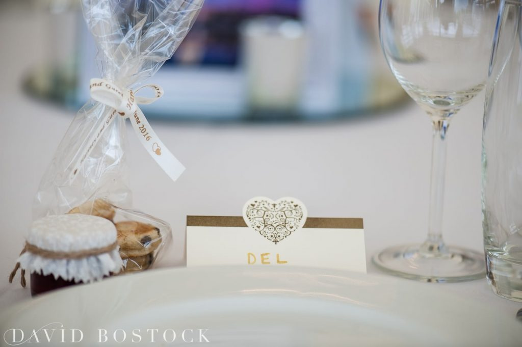 Eynsham Hall Wedding favours