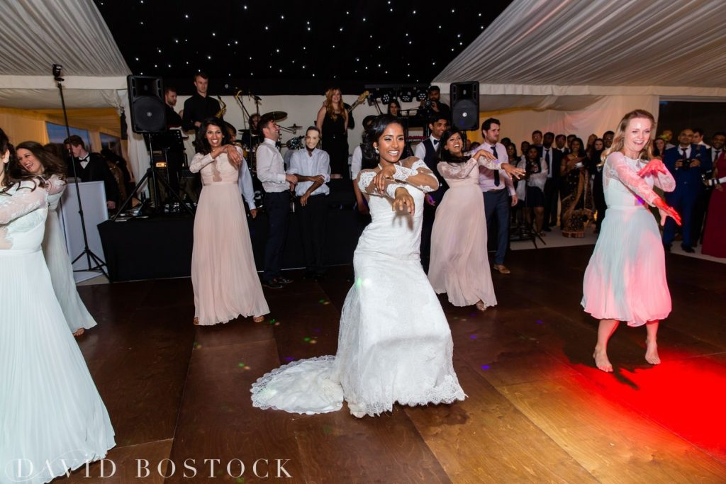 Eynsham Hall Wedding choreographed dance