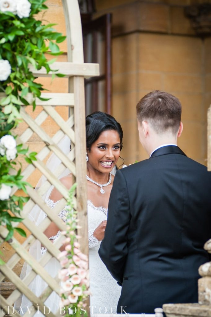 Eynsham Hall Wedding ceremony