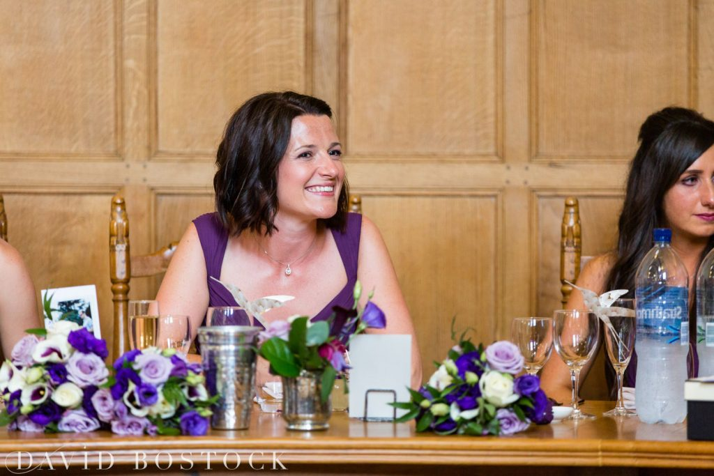 Oxford College Wedding bridesmaid