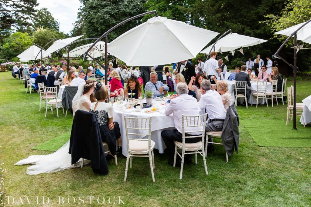 Oxford College Wedding garden party