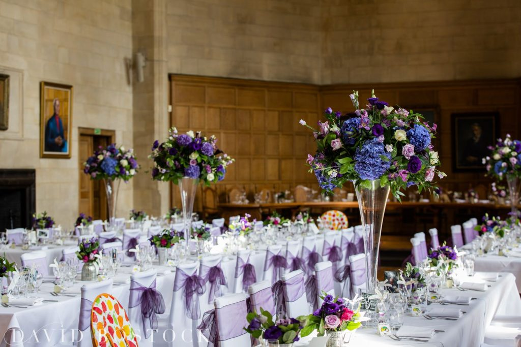 Oxford College Wedding reception venue
