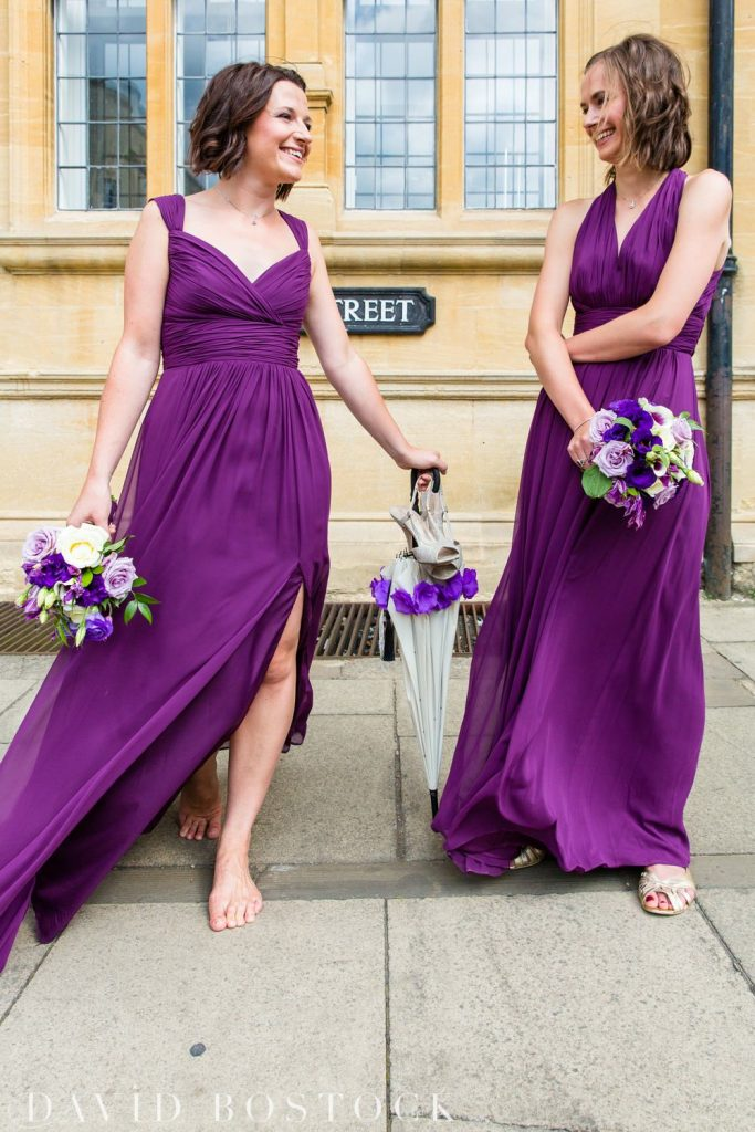 Oxford College Wedding bridesmaids