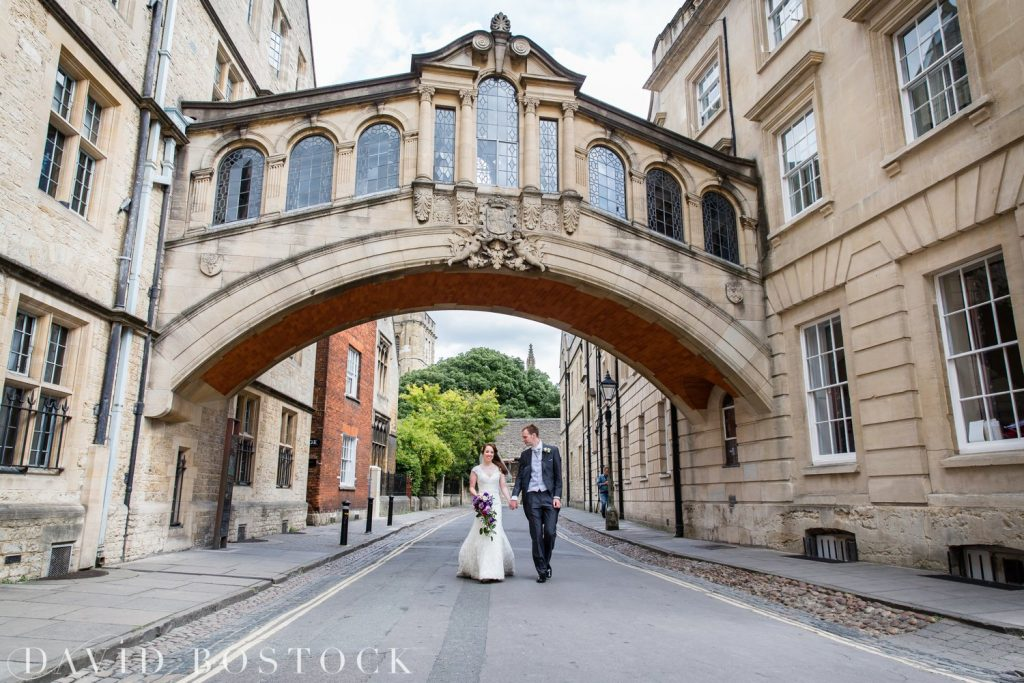Oxford College Wedding Bridge of Sighs