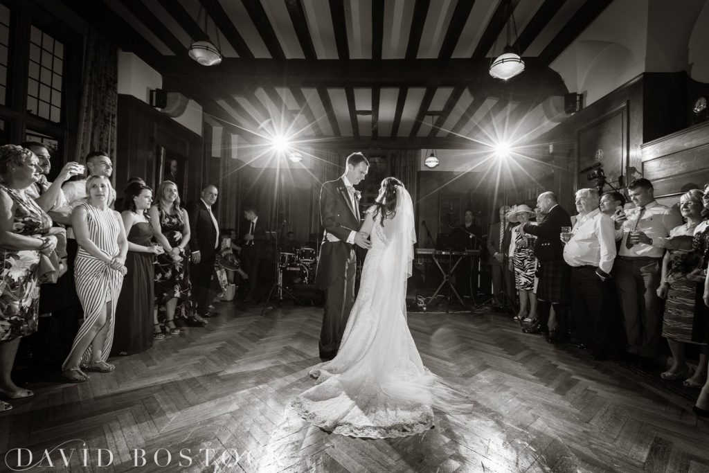 Oxford College Wedding first dance