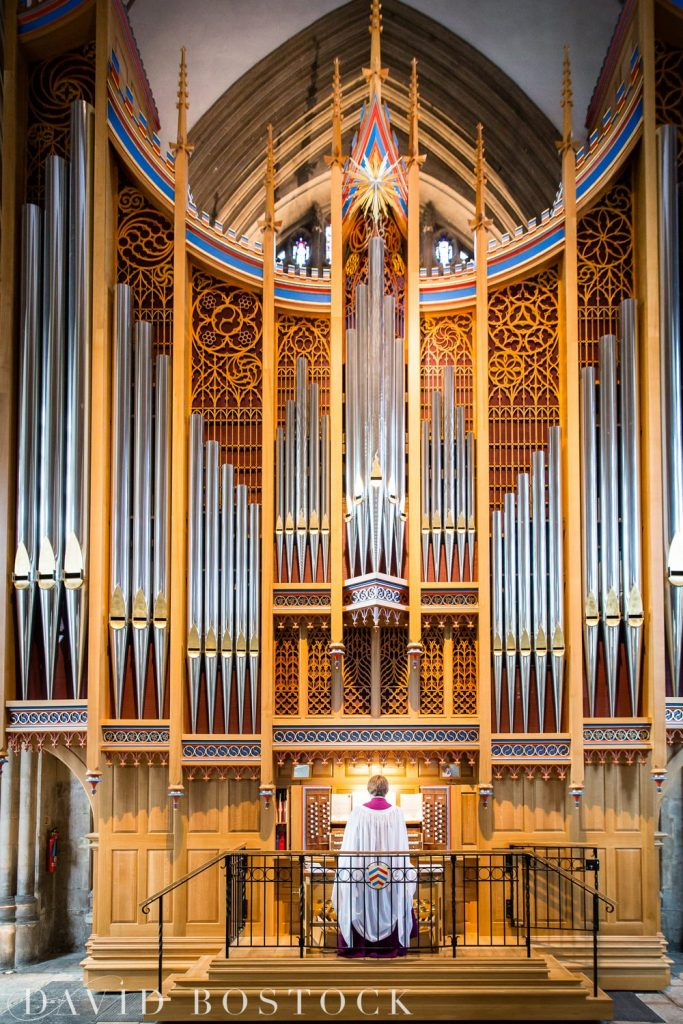 Oxford College Wedding chapel organ