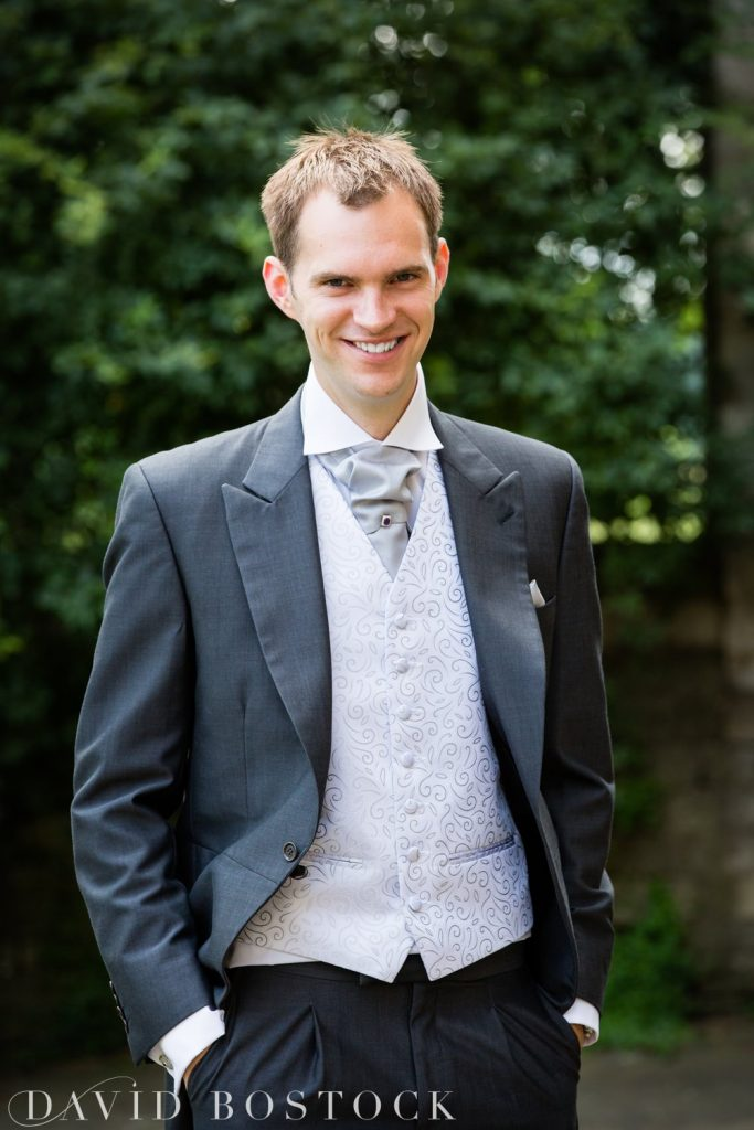 Oxford College Wedding groom
