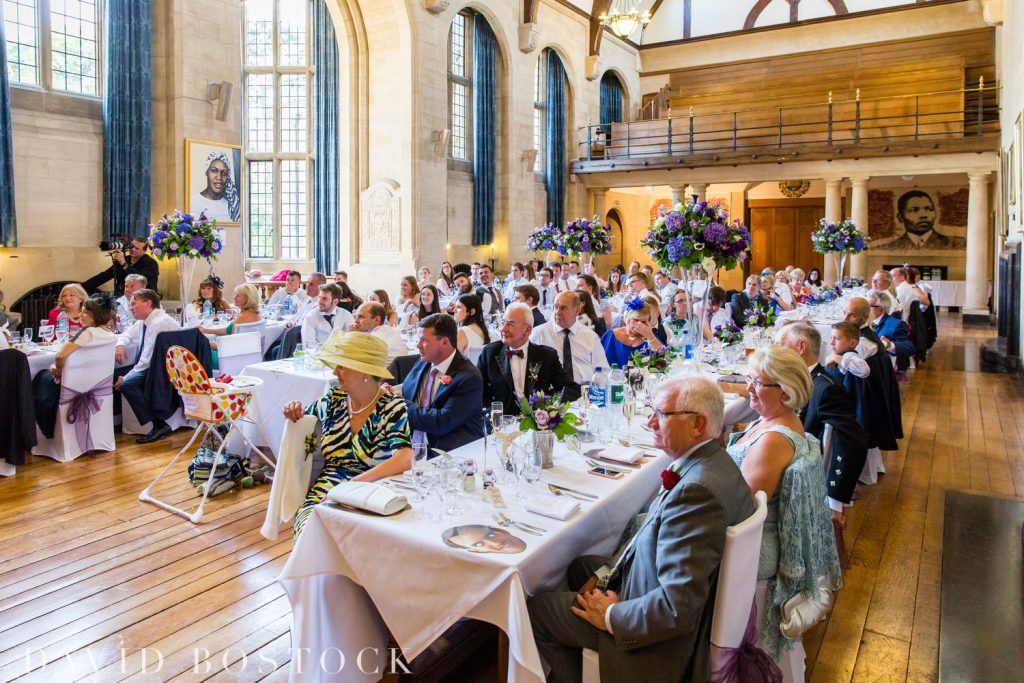 Oxford College Wedding Breakfast