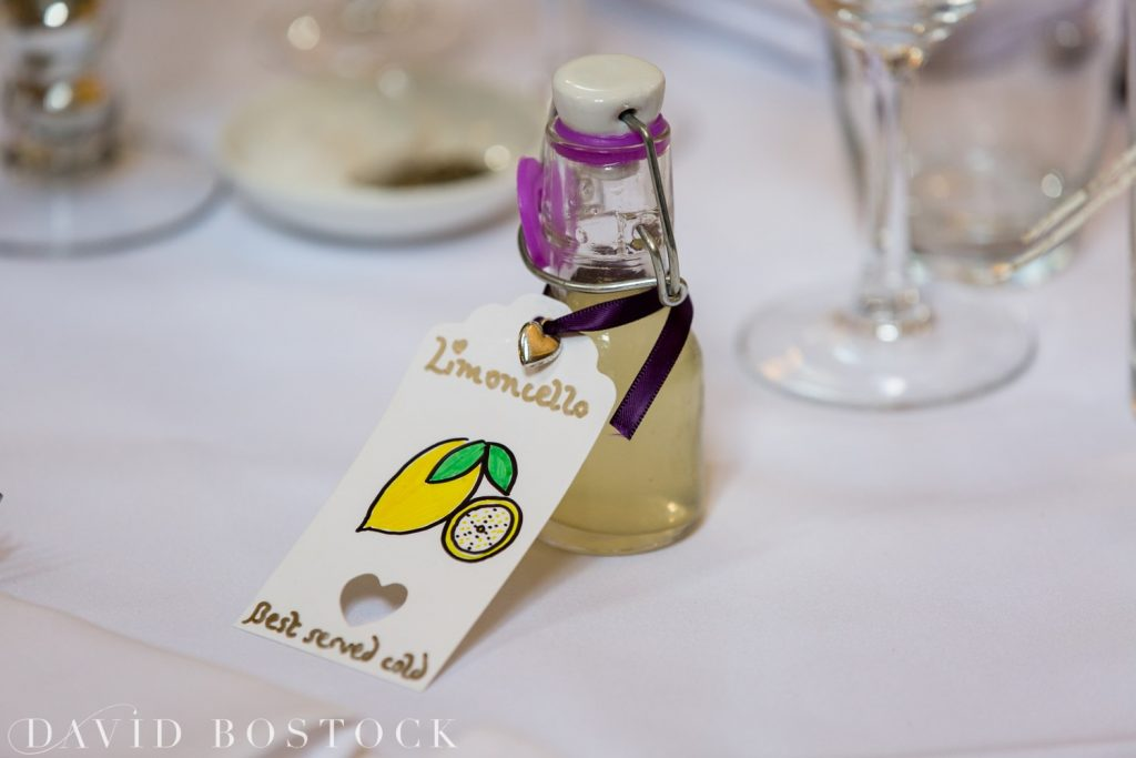 Oxford College Wedding favours