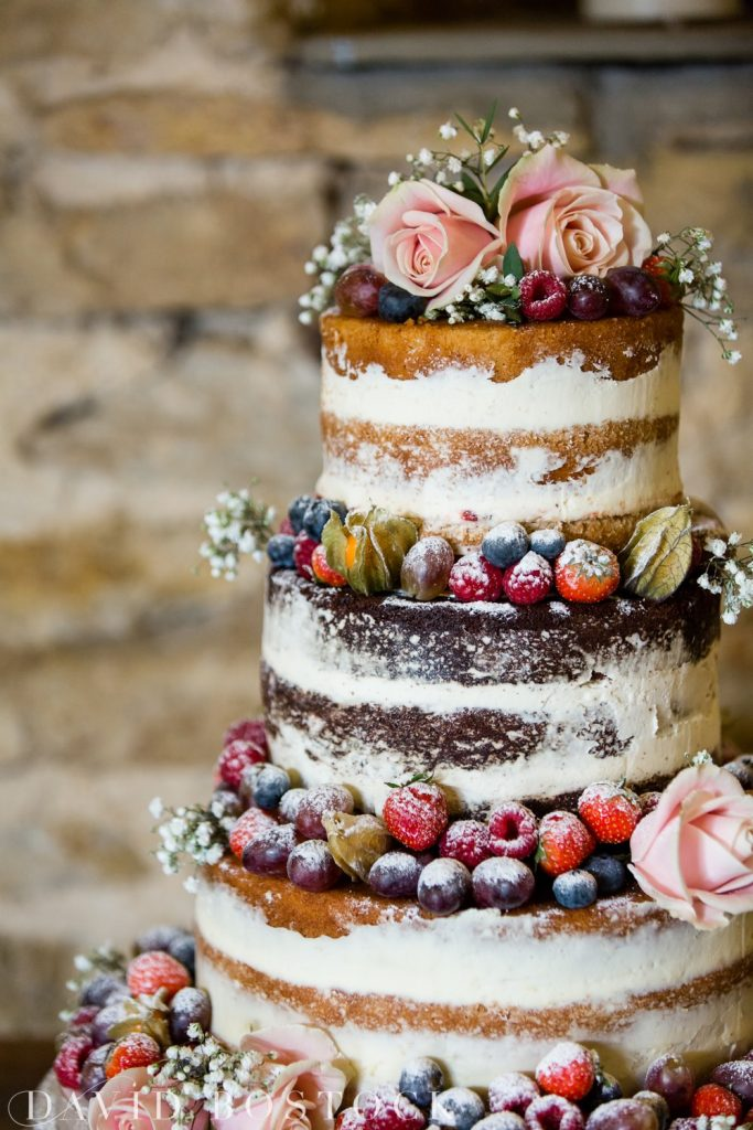 The Great Barn Aynho Wedding Photographs wedding cake
