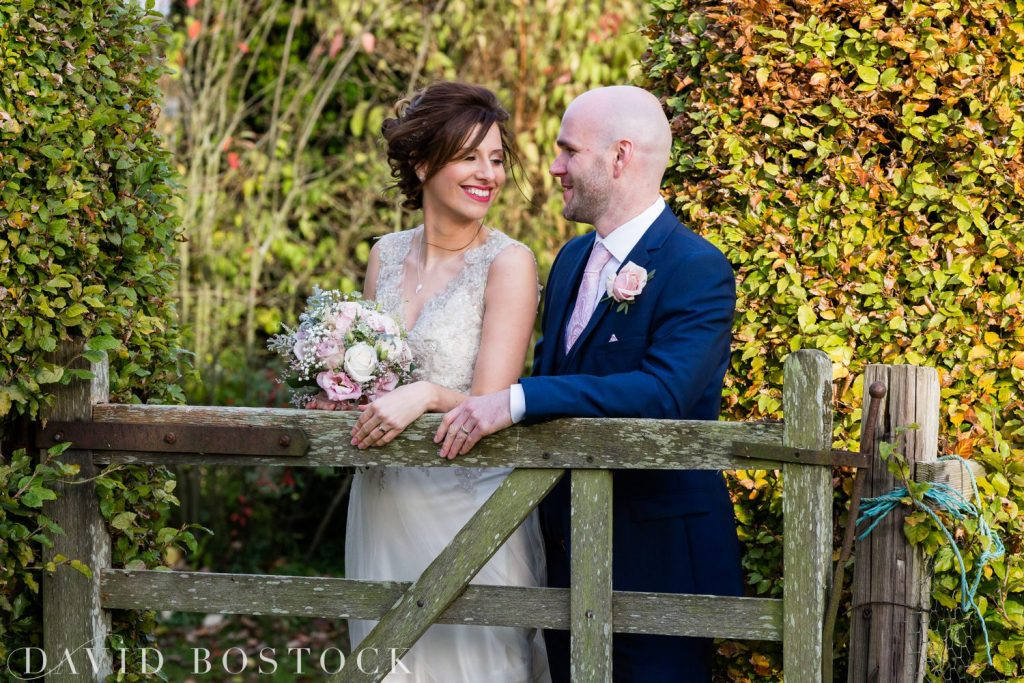 The Great Barn Aynho Wedding Photographs couple shot