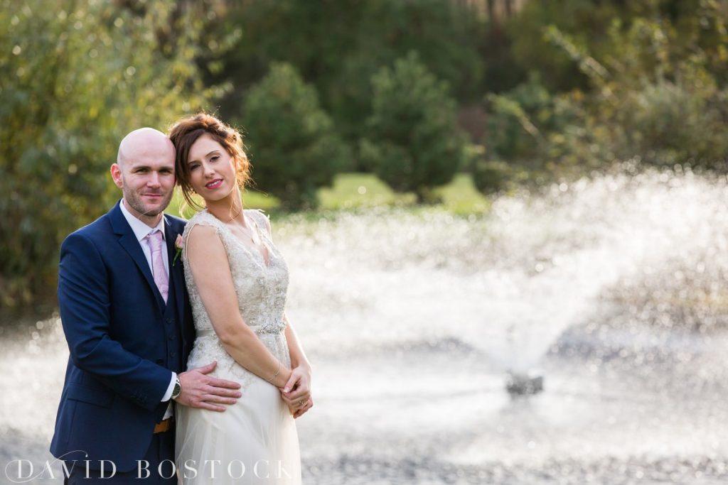 The Great Barn Aynho Wedding Photographs couple shot