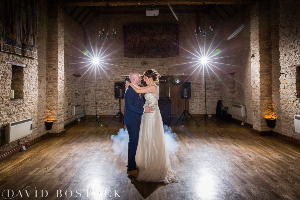 The Great Barn Aynho Wedding Photographs first dance