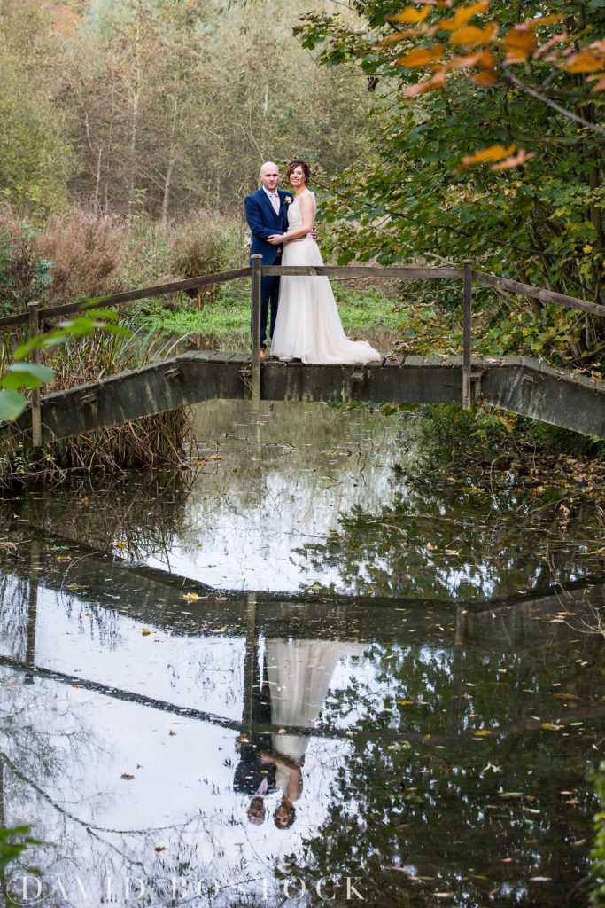 The Great Barn Aynho Wedding Photographs couple shot on bride