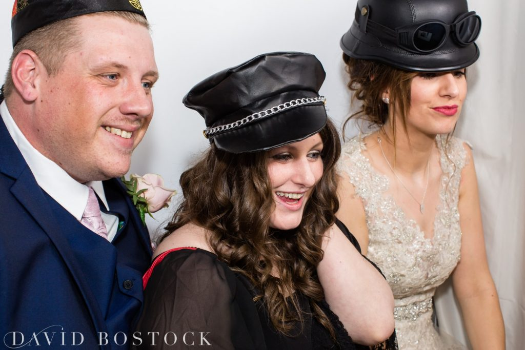 The Great Barn Aynho Wedding Photographs photobooth