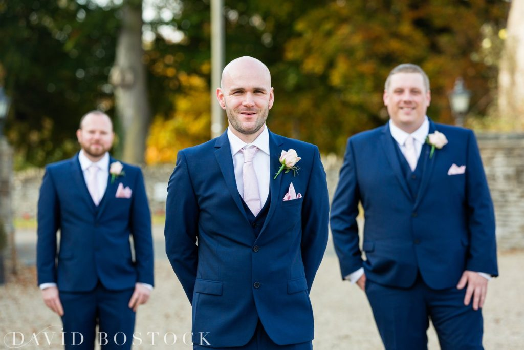 The Great Barn Aynho Wedding Photographs groomsmen
