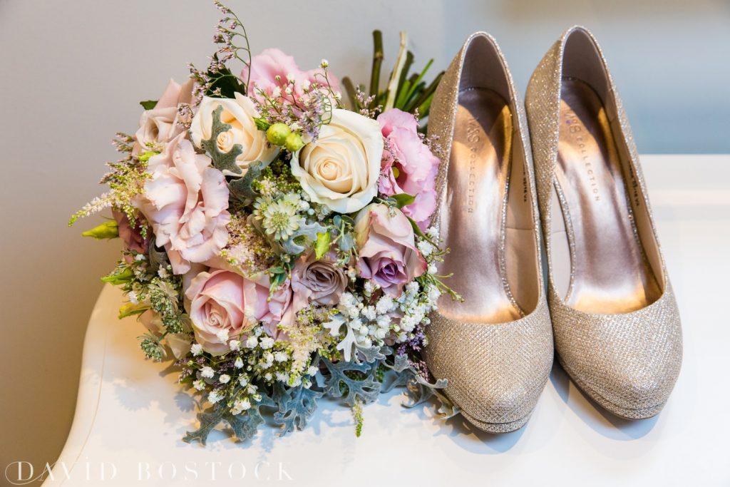 The Great Barn Aynho Wedding Photographs wedding bouquet