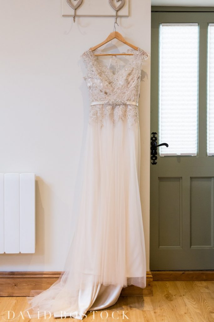 The Great Barn Aynho Wedding Photographs wedding dress